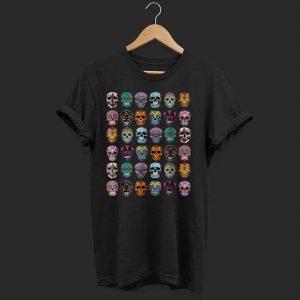 Official Day Of The Dead Sugar Skulls 2019 Halloween shirt