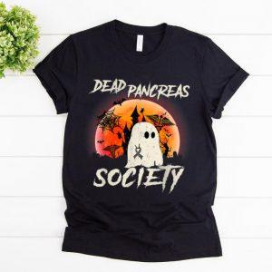 Official Dead Pancreas Society Halloween Ghost Diabetes Awareness shirt