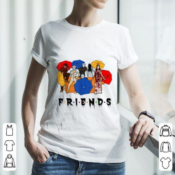 Official Halloween Horror Characters Friends shirt