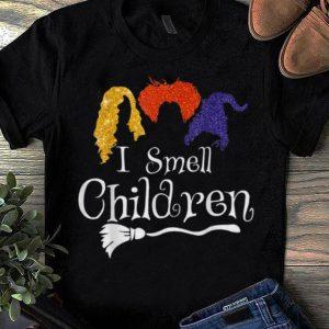 Official I Smell Children Kids Broom Halloween Costume shirts