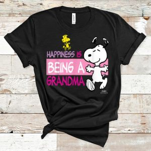 Official Peanuts Snoopy Happiness is Being a Grandma shirt
