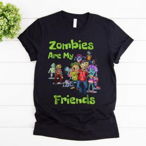 Official Zombies Are My Friends Halloween shirt