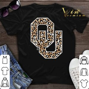 Oklahoma Sooners Leopard Logo shirt sweater