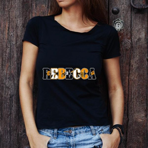 Original Rebecca Spooky Name Halloween Gift shirt