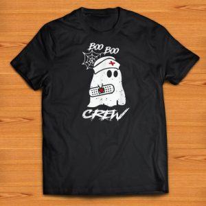 Premium Boo Boo Crew Nurse Ghost Halloween Costume shirts