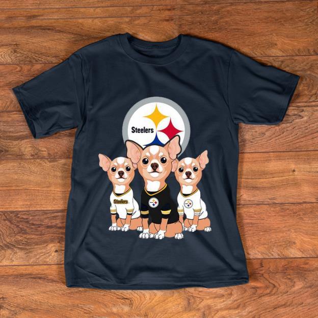 Premium Chihuahuas Pittsburgh Steelers NFL shirt 1 - Premium Chihuahuas Pittsburgh Steelers NFL shirt
