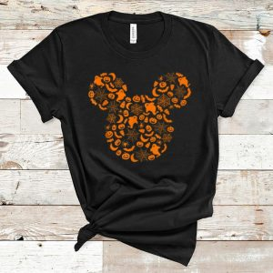 Premium Disney Mickey Mouse Halloween Silhouette shirt