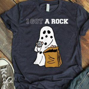 Premium I Got A Rock Charlie Brown's Ghost Halloween shirt