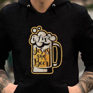Premium I love Jesus and Beer shirt