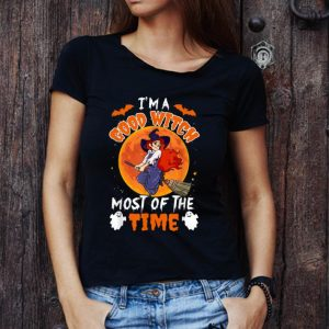 Premium Lady Witch I'm A Good Witch Most Of The Time Halloween shirt