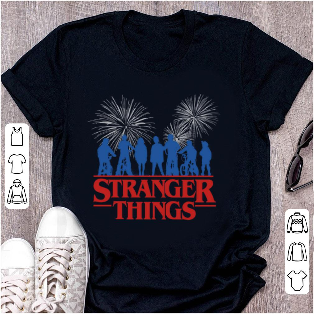 Premium Stranger Things 3 Fireworks shirt 1 - Premium Stranger Things 3 Fireworks shirt