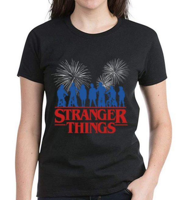 Premium Stranger Things 3 Fireworks shirt
