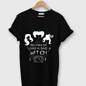 Pretty Halloween You Coulda Had A Bad Witch shirt