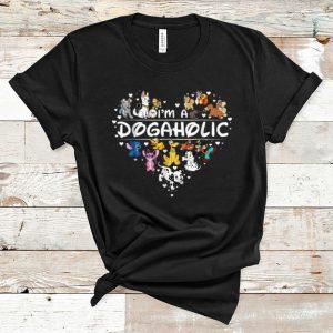 Pretty I'm A Dogaholic Disney Dog shirt