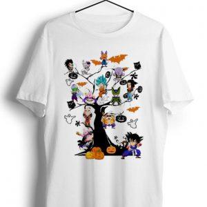 Pretty Son Goku - Dragon Ball Character On The Halloween Tree shirt
