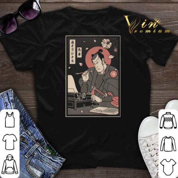 Samurai Writer shirt