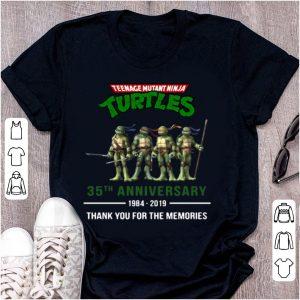 Top 35th Anniversary 1984-2019 Teenage Mutant Ninja Turtles shirt