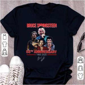 Top Bruce Springsteen 55th Anniversary 1965-2020 Signature shirt