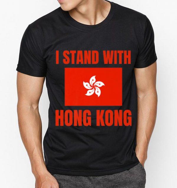 Top I Stand With Hong Kong shirt