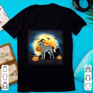 Top Irish Wolfhound And Pumpkin Halloween shirt