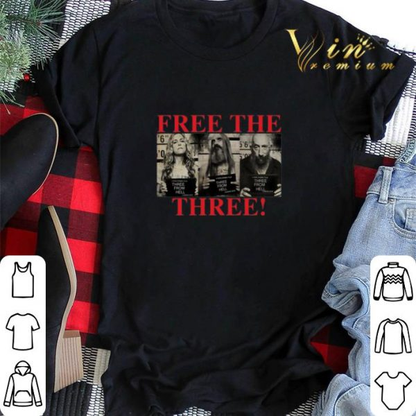 3 From Hell Free the Three Rob Zombies shirt sweater