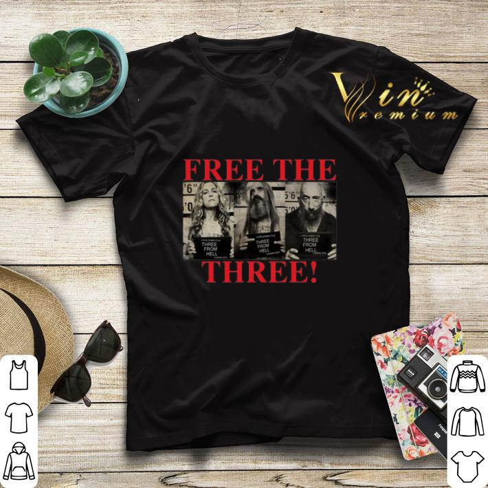 3 From Hell Free the Three Rob Zombies shirt sweater 4 - 3 From Hell Free the Three Rob Zombies shirt sweater