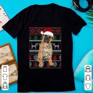 Awesome BullMastiff Ugly Sweater Christmas Gift shirt