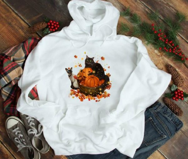 Awesome Cats Halloween Autumn shirt