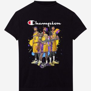 Awesome Champions DeMarcus Cousins Lebron James Anthony Davis Signatures shirt