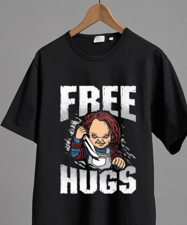 Awesome Free Hugs Chucky Halloween shirt