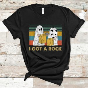 Awesome I Got A Rock Charlie Brown's Ghost Halloween shirt