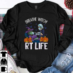 Awesome Victim Breathe Witch RT Life Halloween shirt