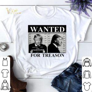 Donald Trump wanted for treason shirt sweater