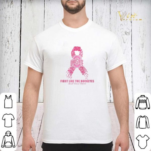 Fight like the Ohio State Buckeyes Breast Cancer warrior shirt sweater