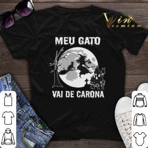 Halloween Witch Meu Gato Vai De Carona shirt
