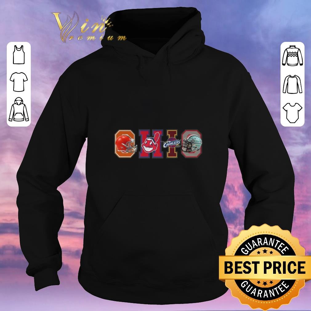 Hot Ohio Cleveland Sport Teams Cleveland Browns Cleveland Indians Cleveland Cavaliers shirt sweater 4 1 - Hot Ohio Cleveland Sport Teams Cleveland Browns Cleveland Indians Cleveland Cavaliers shirt sweater