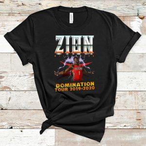 Hot Pelicans Zion Williamson Domination tour 2019 2020 shirt