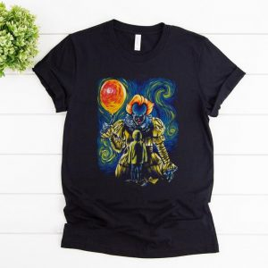 Hot Pennywise And Georgie Van Gogh shirt