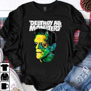Hot Vintage Frankenstein Halloween Party Horror Movie shirt