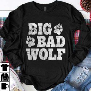 Nice Big Bad Wolf Halloween Costume Outfit Girls Boys Gift shirt