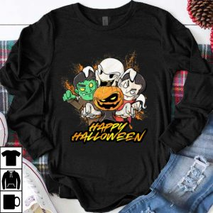 Nice Halloween Pumpkin Face Vampire Ghost Frankenstein shirt