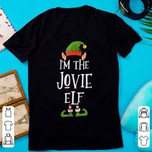 Nice I'm the Jovie Elf - Funny Ugly Christmas Apparel shirt