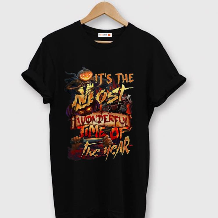 Nice It s The Most Wonderful Time Of The Years Halloween shirt 1 - Nice It's The Most Wonderful Time Of The Years Halloween shirt