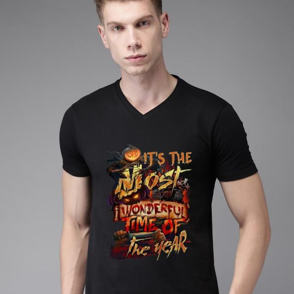 Nice It's The Most Wonderful Time Of The Years Halloween shirt