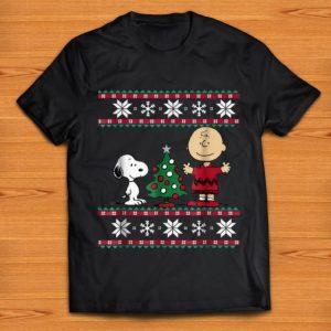 Nice Peanuts Snoopy And Charlie Brown Ugly Christmas shirt