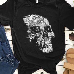 Nice Pile Of Psychopaths Serial Killers Skull Halloween Gift shirt