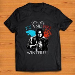 Nice Son Of Ice And fire Winterfell Jon Snow shirt