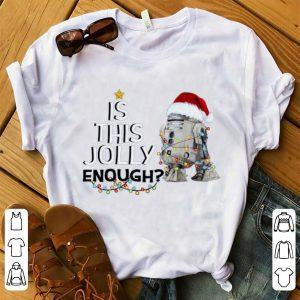 Nice Star Wars R2-D2 Santa Is This Enough shirt