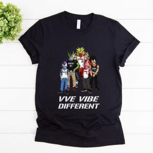 Nice VVe Vibe Different MLB Dragon Ball Characters shirt