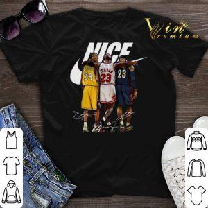 Nike Kobe Bryant Michael Jordan LeBron James shirt sweater